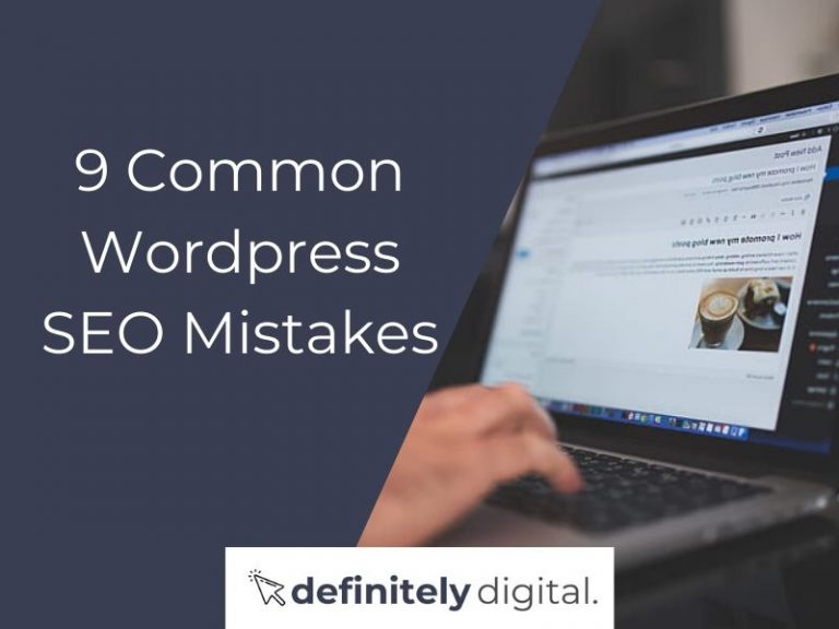 9 Common WordPress SEO Mistakes